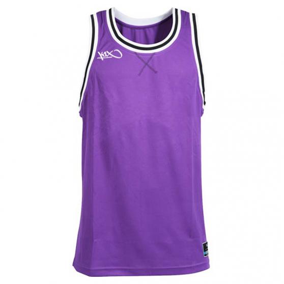 K1x Double X Jersey - Violet & Blanc