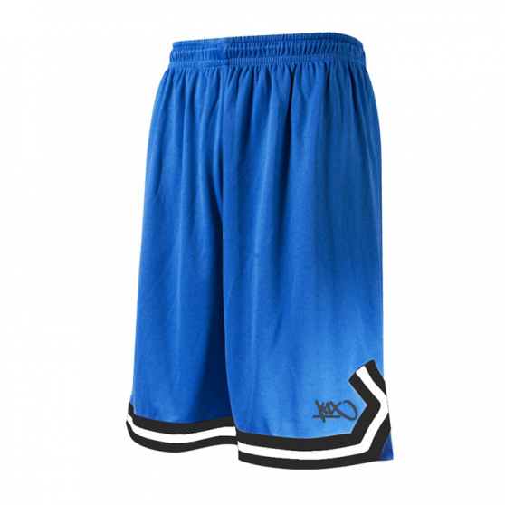 K1x Double X Shorts - Royal & Blanc