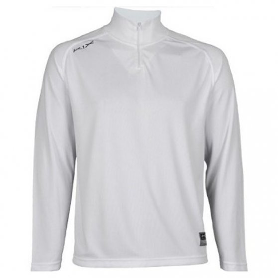 K1x Intimidator Longsleeve Shooting Shirt - Blanc