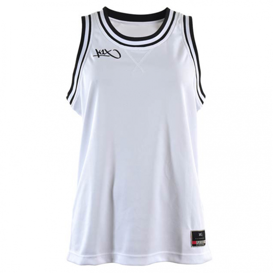 K1x Ladies Double X Jersey - Blanc & Noir