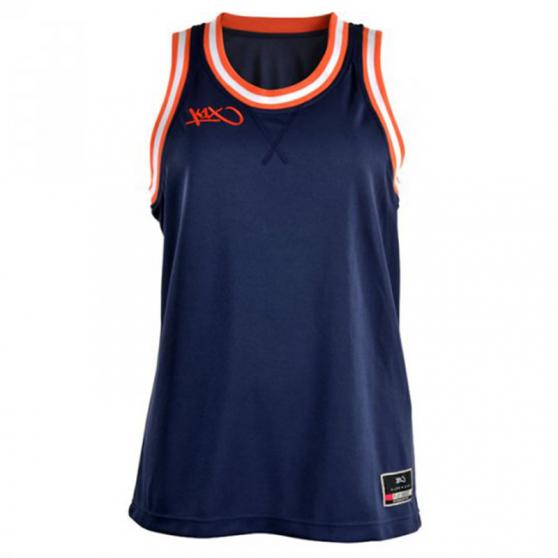 K1x Ladies Double X Jersey - Marine & Orange