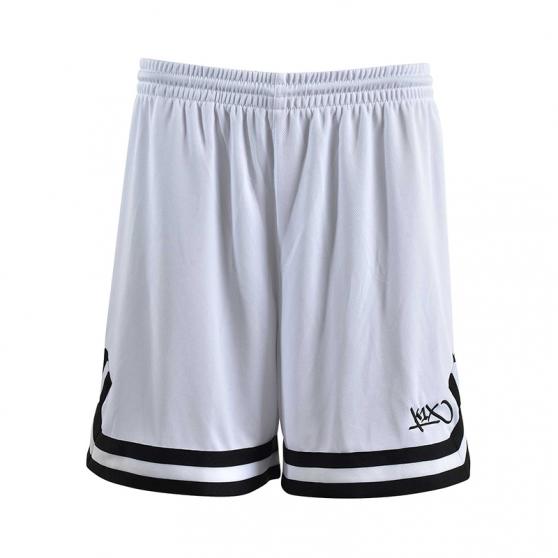 K1x Ladies Double X Shorts - Blanc & Noir