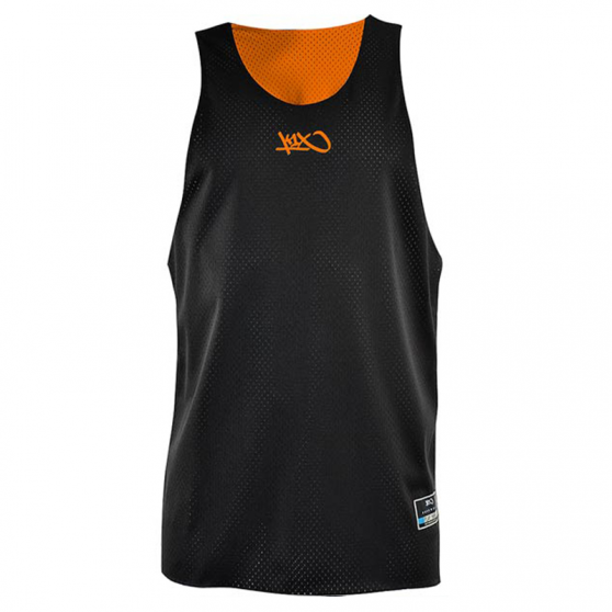 K1x Reversible Practice Jersey mk2 - Orange & Noir