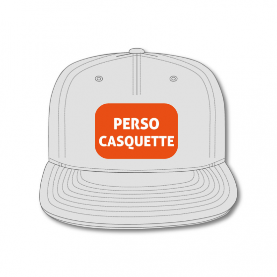 Personnalisation Casquette