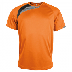 Maillot Sport - Orange & Noir