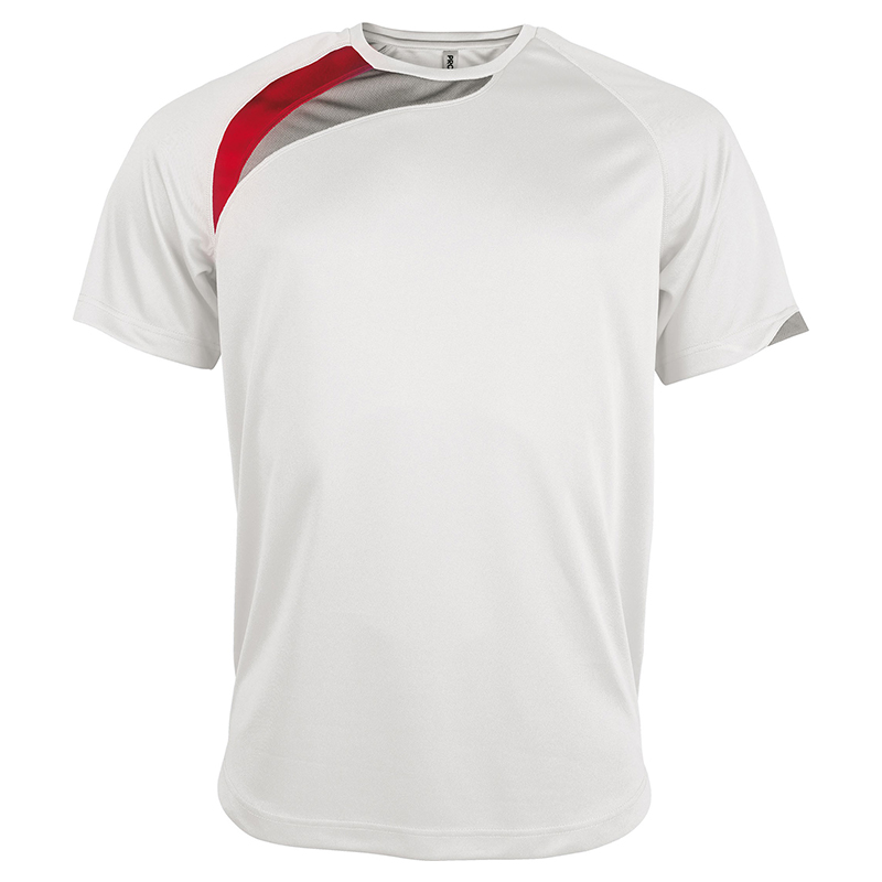 Maillot Sport - Blanc & Rouge