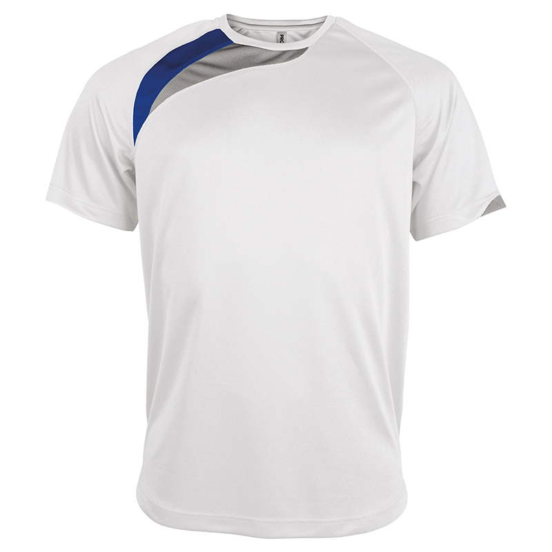 Maillot Sport - Blanc & Royal