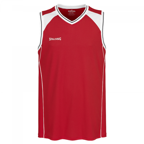 Spalding Crossover Tank Top - Rouge / Blanc