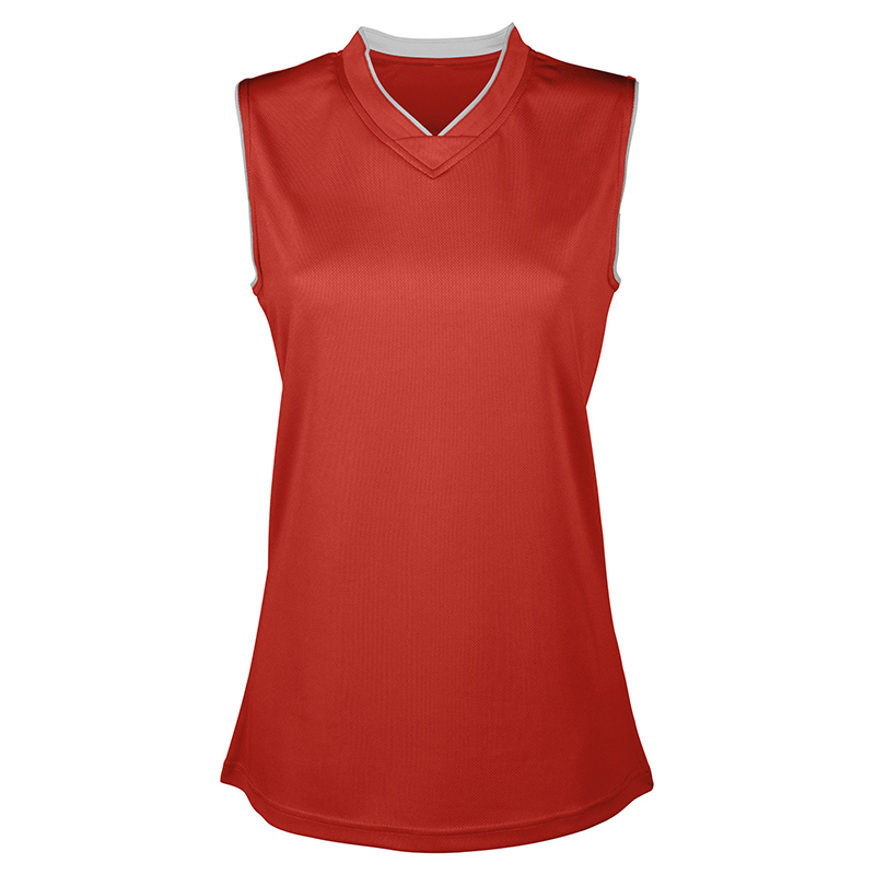 Maillot Basketball Femme - Rouge