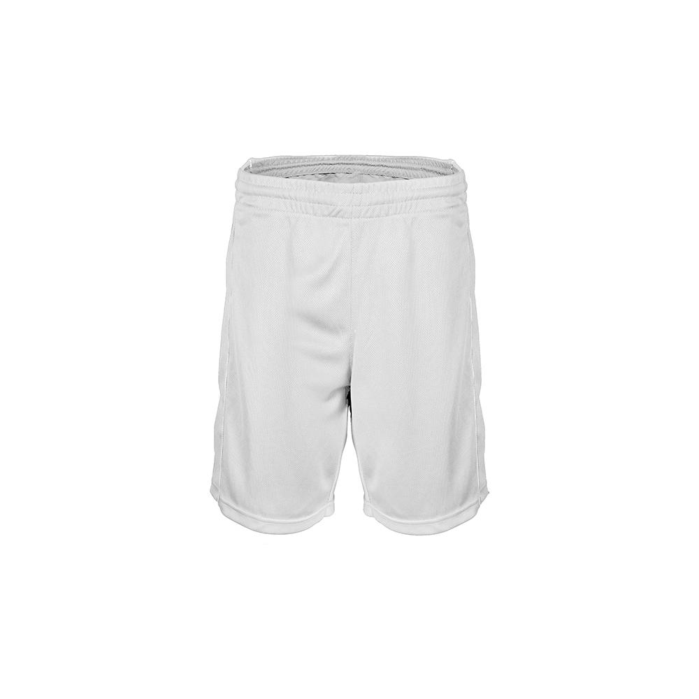 Short Basketball - Blanc