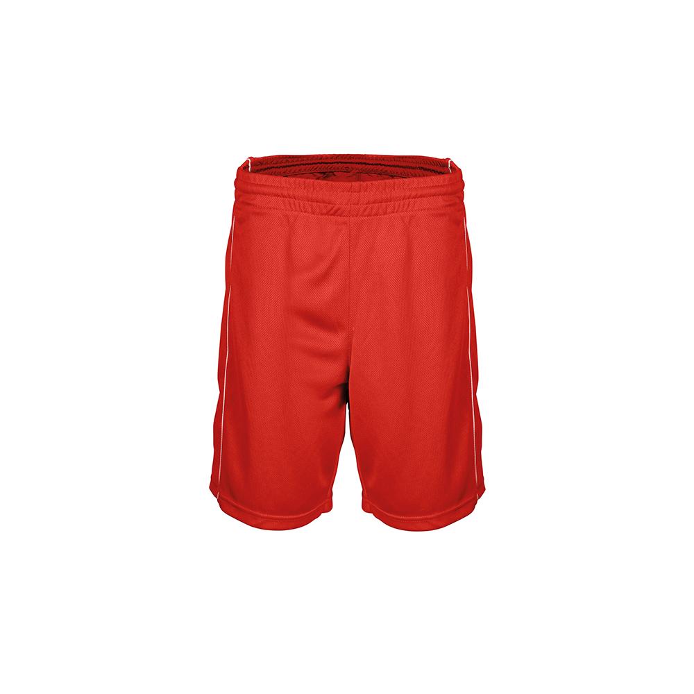 Short Basketball Femme - Rouge