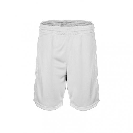 Short Basketball Femme - Blanc
