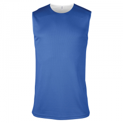Maillot Basketball Réversible - Royal & Blanc