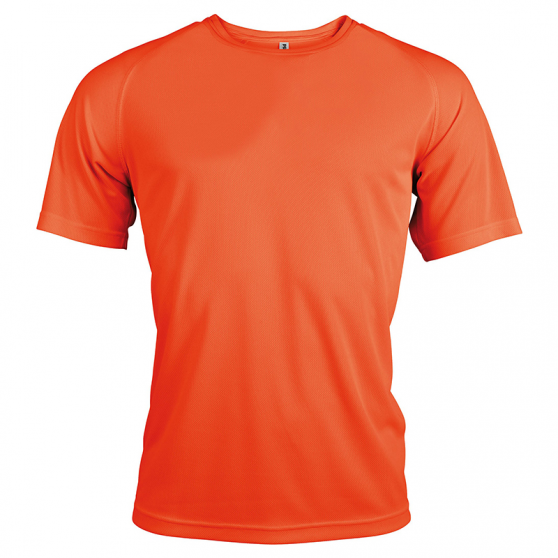 T-shirt Sport - Orange Fluo