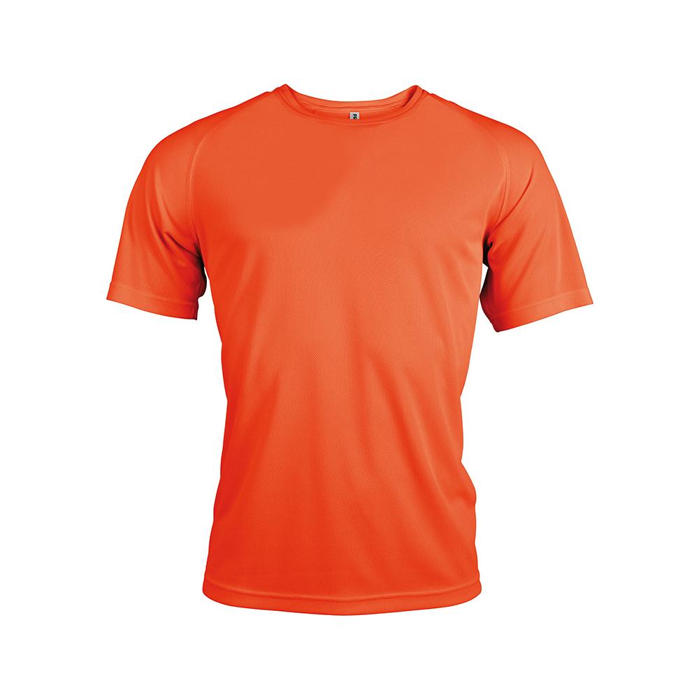 T shirt Sport Orange Fluo
