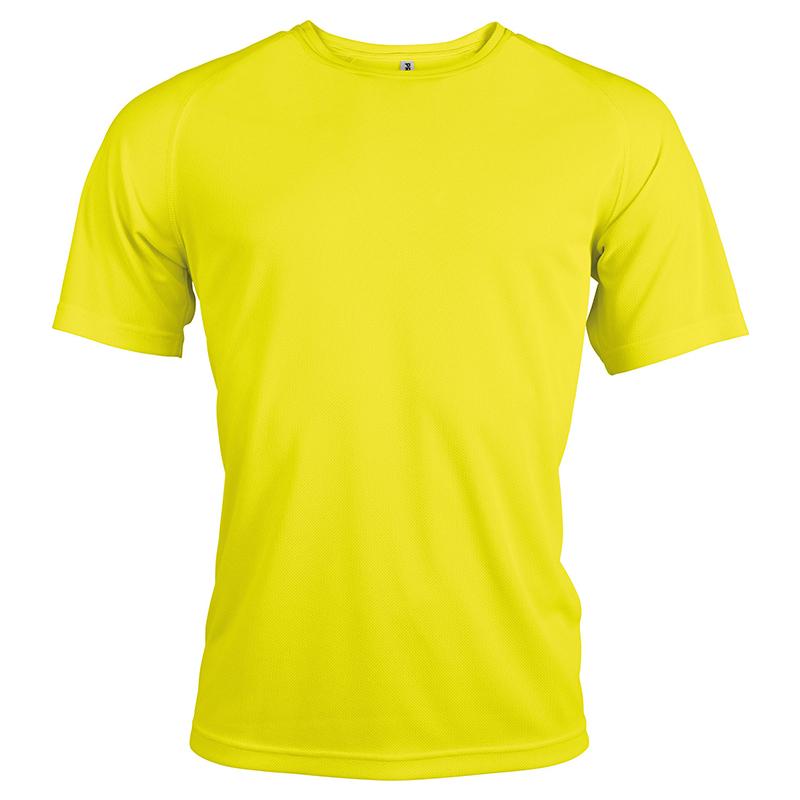 T-shirt Sport - Jaune Fluo