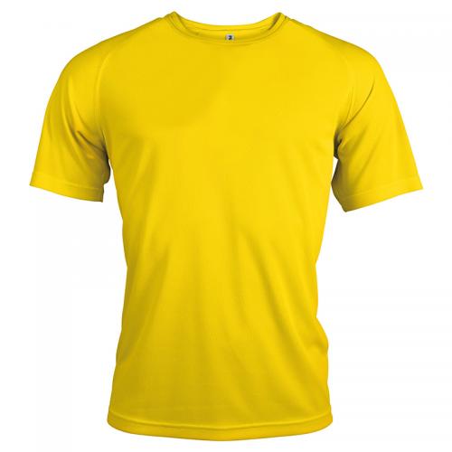 T-shirt Sport - Jaune
