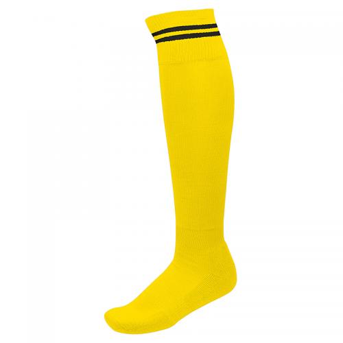 Chaussettes de Sport à Rayures - Jaune & Noir