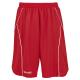 Spalding Crossover Shorts - Rouge / Blanc