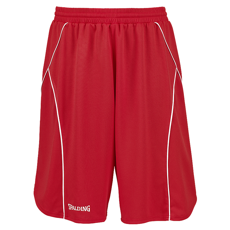 Spalding Crossover Shorts - Rouge / Blanc