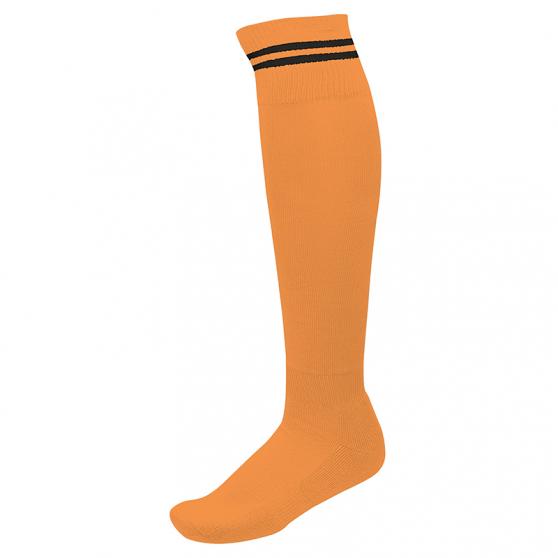 Chaussettes de Sport à Rayures - Orange & Noir