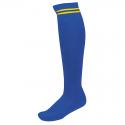 Chaussettes de Sport à Rayures - Royal & Jaune