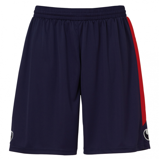 Uhlsport Liga Shorts - Marine & Rouge