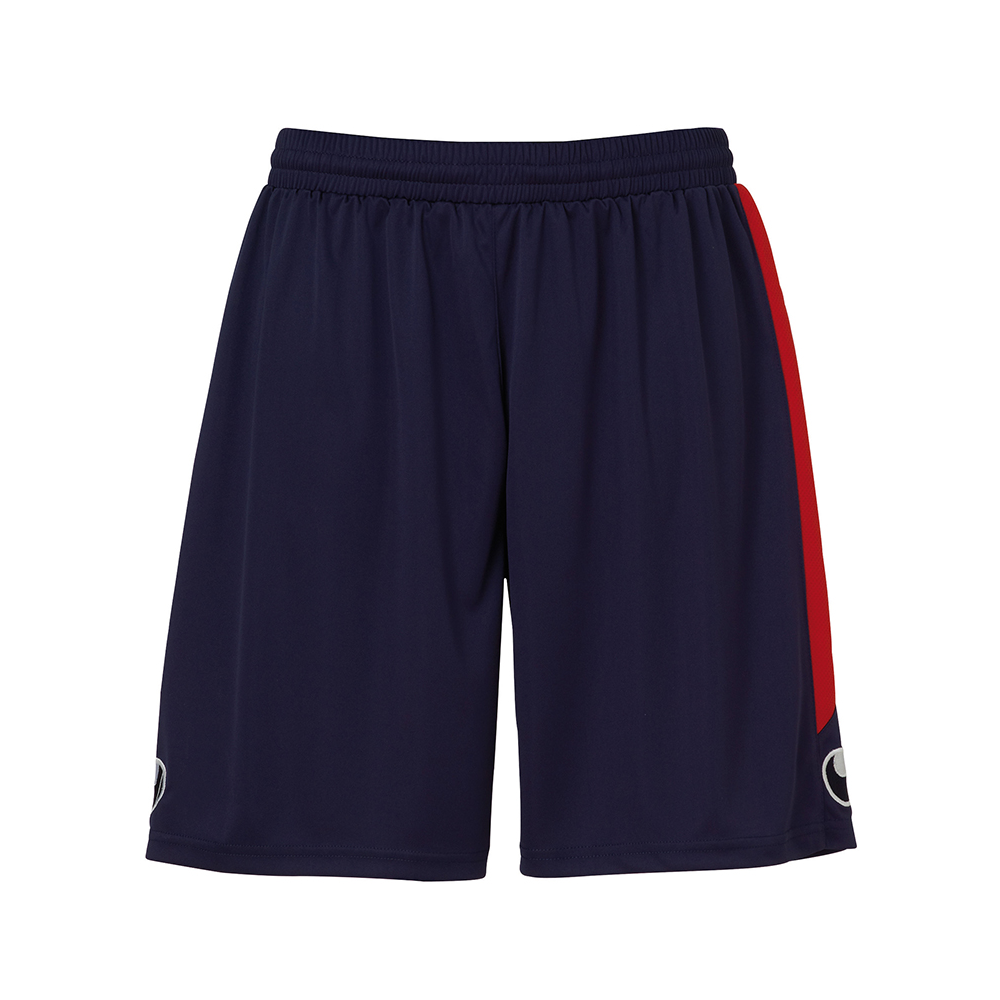 Uhlsport Liga Shorts - Marine & Rouge