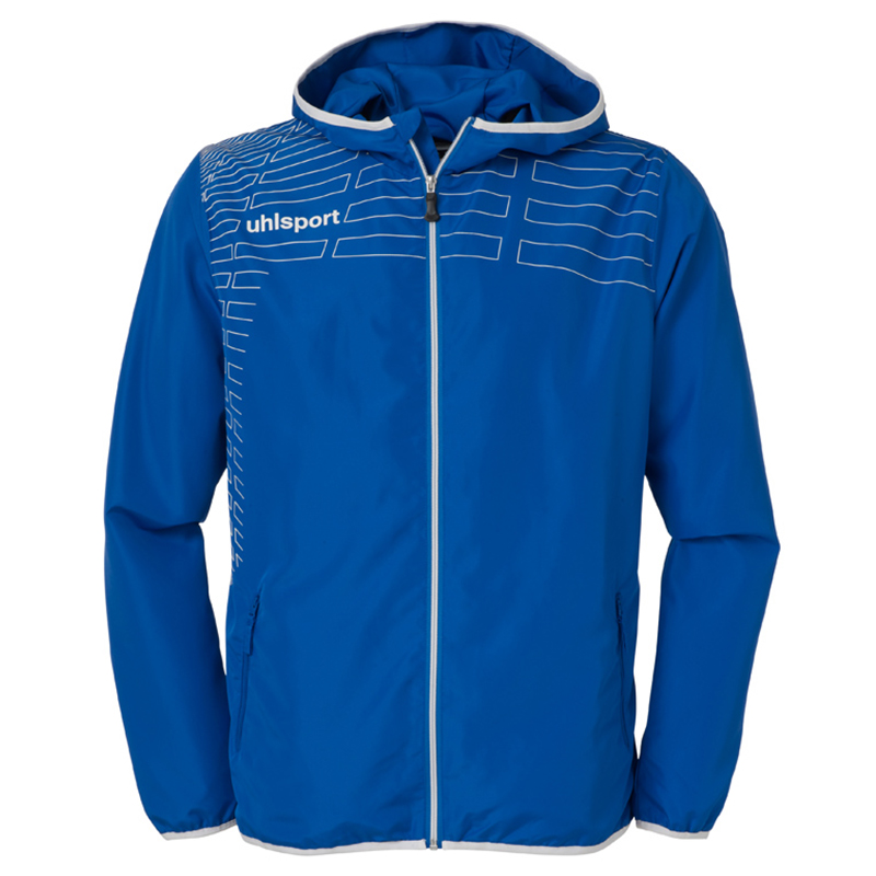 Uhlsport Match Presentation Jacket - Azur & Blanc