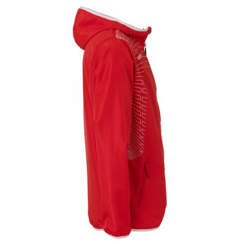 Uhlsport Match Presentation Jacket - Rouge & Blanc
