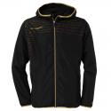 Uhlsport Match Presentation Jacket - Noir & Or
