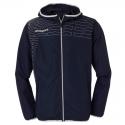 Uhlsport Match Presentation Jacket - Marine & Blanc