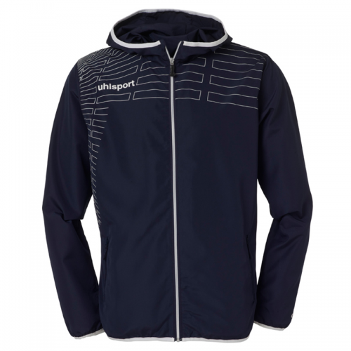 Uhlsport Match Presentation Jacket - Marine & Blanc