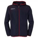 Uhlsport Match Presentation Jacket - Marine & Rouge