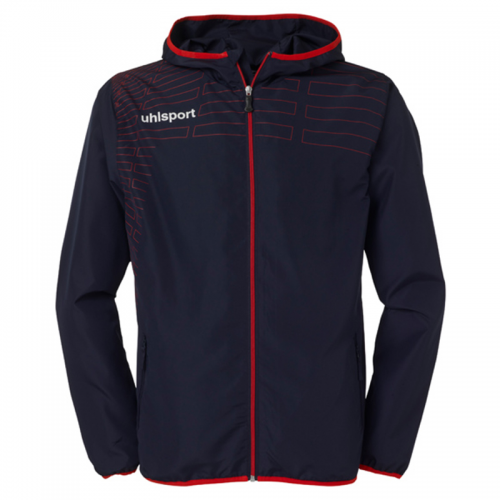 Uhlsport Match Presentation Jacket - Marine & Rouge