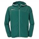 Uhlsport Match Presentation Jacket - Vert & Blanc