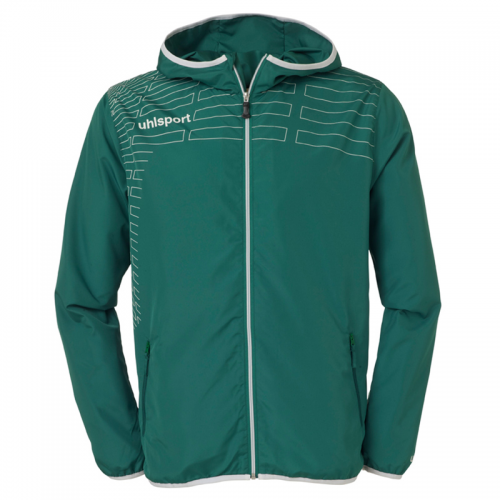 Uhlsport Match Presentation Jacket - Vert & Blanc