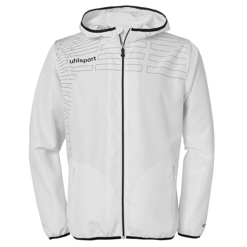 Uhlsport Match Presentation Jacket - Blanc & Noir