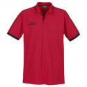 Spalding Polo Shirt - Rouge & Noir