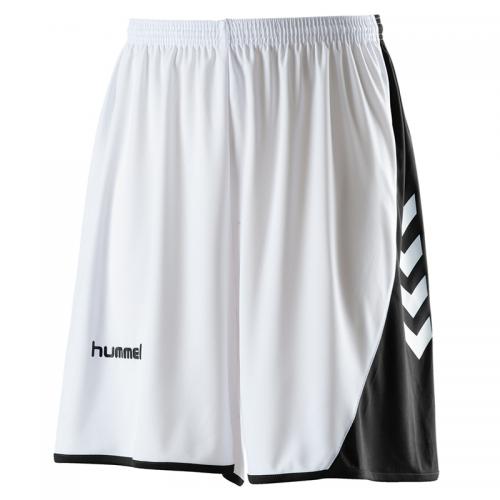 Hummel Hoop Shorts - Blanc & Noir