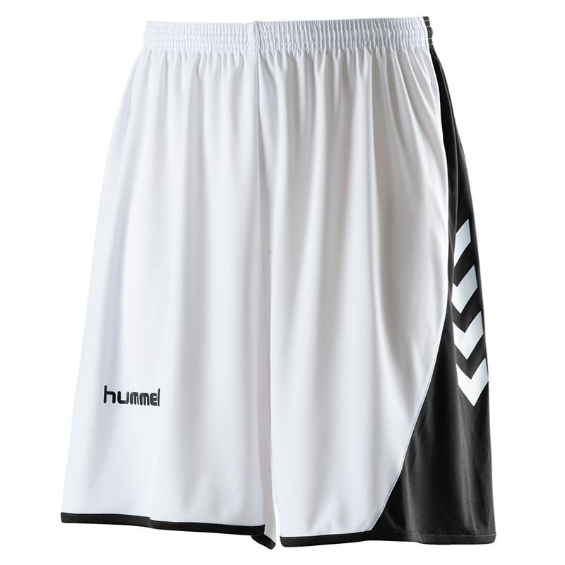 Hummel Hoop Basket Shorts - Blanc / Noir