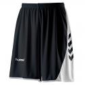 Hummel Hoop Shorts - Noir & Blanc