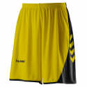 Hummel Hoop Shorts - Jaune & Noir