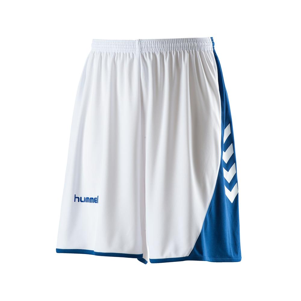 Hummel Hoop Shorts - Blanc & Royal