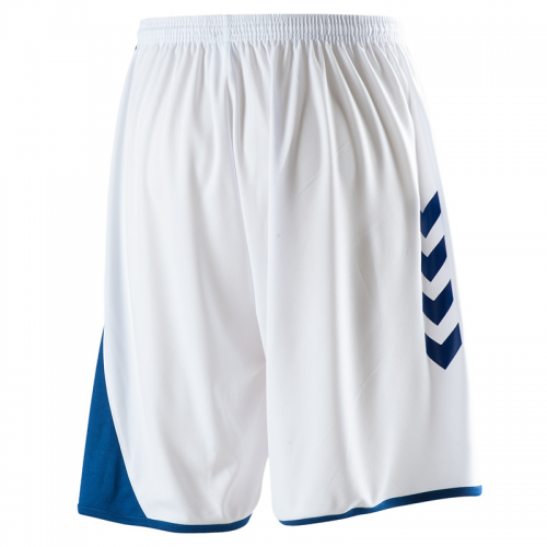 Hummel Hoop Shorts - Blanc & Royal