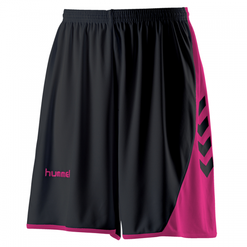 Hummel Hoop Lady Shorts - Noir & Rose