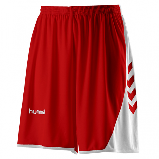 Hummel Hoop Lady Shorts - Rouge & Blanc