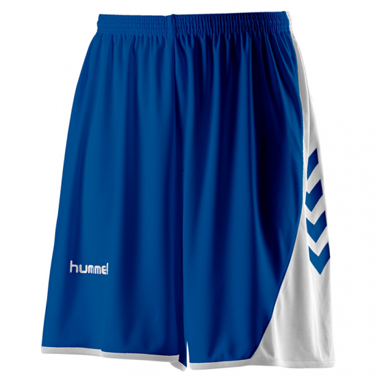 Hummel Hoop Lady Shorts - Royal & Blanc