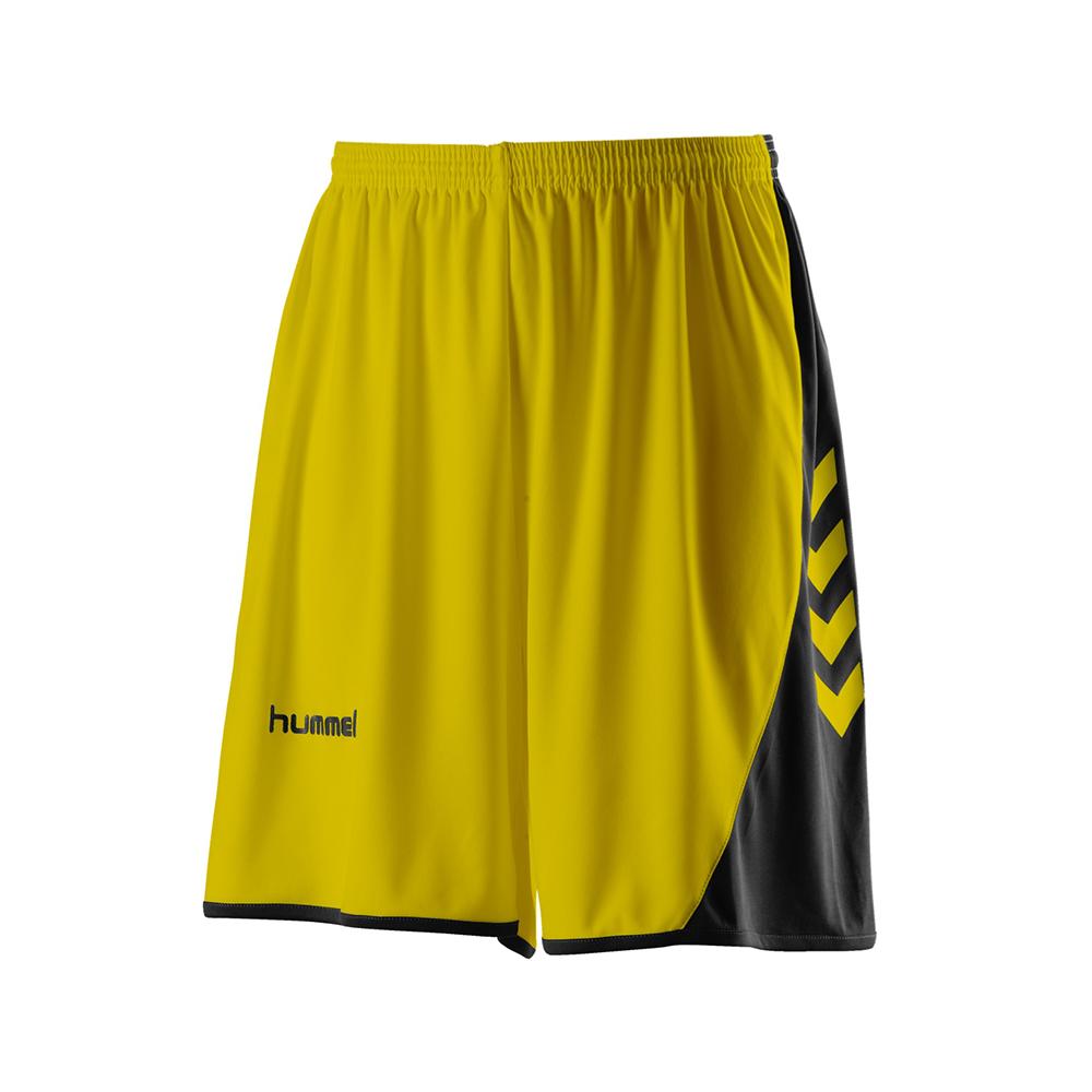 Hummel Hoop Lady Shorts - Jaune & Noir