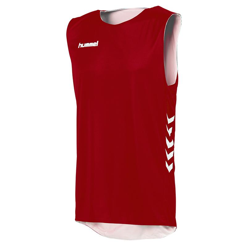 Hummel Reversible Basket - Rouge & Blanc